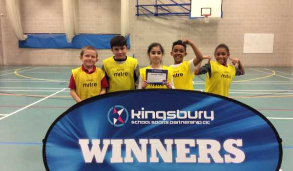 Marsh Hill Win Second Dodgeball Cluster Competition