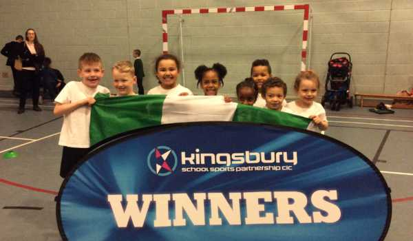 Birches Green Infants are Cluster Athletics Winners