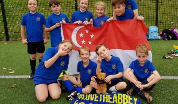 17 teams & 130 pupils take part in Year 3 & 4 Mixed Football